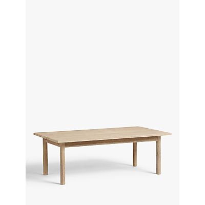 Croft Collection Burford Garden Coffee Table, FSC-Certified (Eucalyptus Wood), Natural
