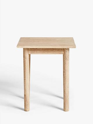 John Lewis Partners Burford Garden, Wooden Side Table For Garden