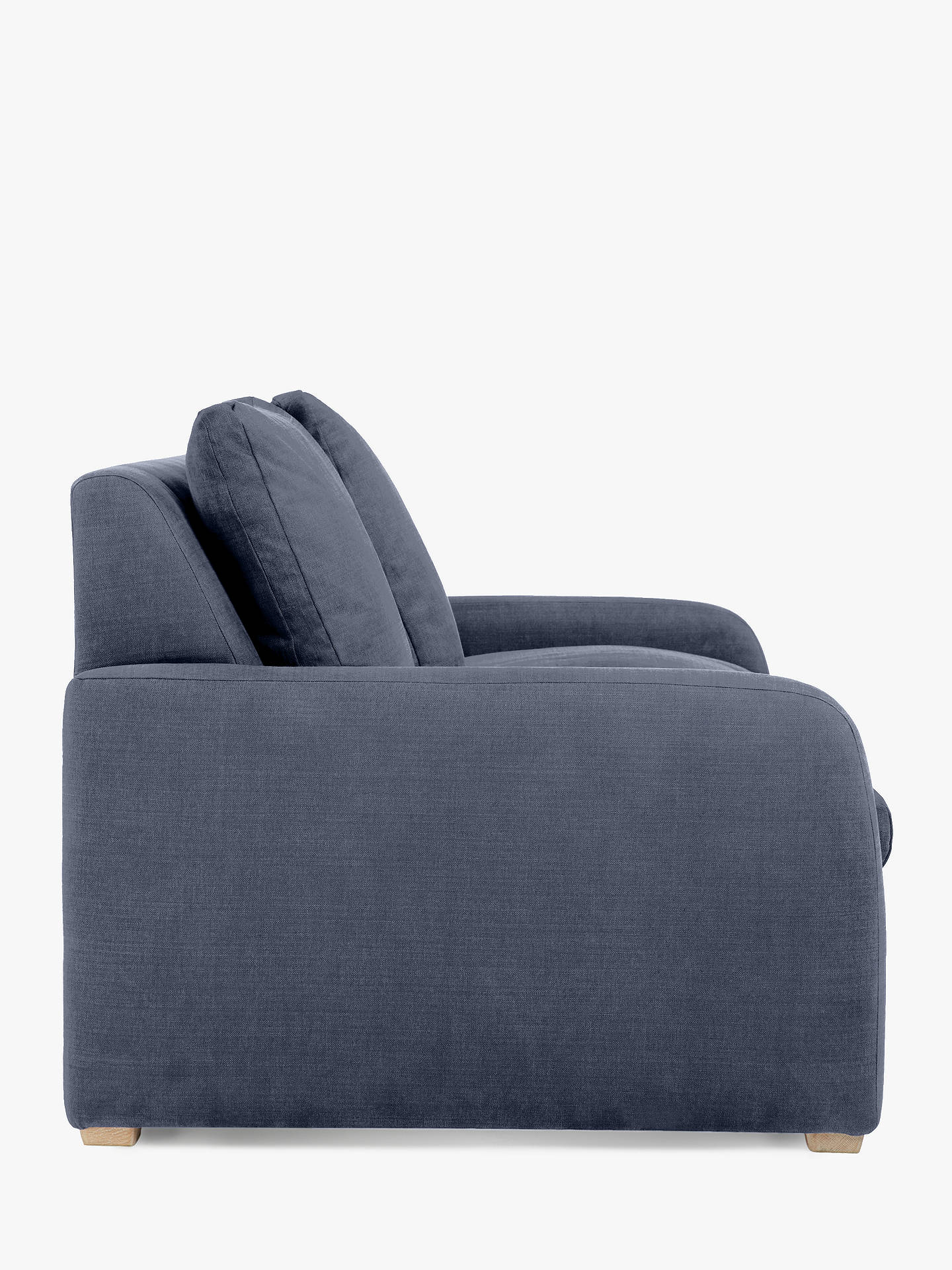 Buy Floppy Jo Sofa Bed by Loaf at John Lewis, Clever Velvet Liquorice Grey Online at johnlewis.com