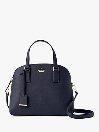 Kate Spade New York Cameron Street Lottie Leather Cross Body Bag Blazer Blue