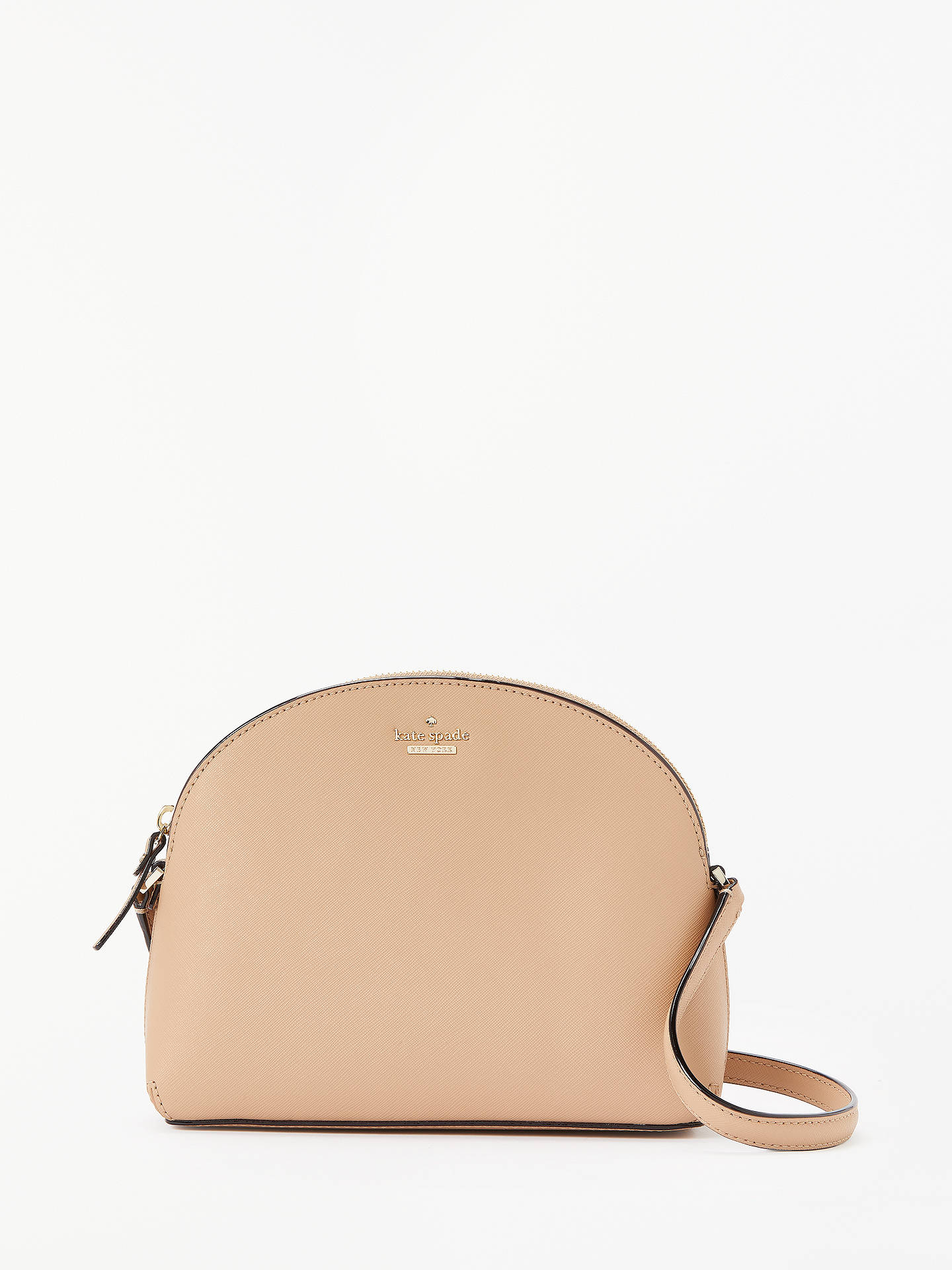 143c11414 Buy kate spade new york Cameron Street Hilli Large Leather Cross Body Bag,  Cashew Online ...