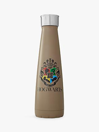 S'ip by S'well Harry Potter Hogwarts Vacuum Insulated Drinks Bottle, 450ml, Brown