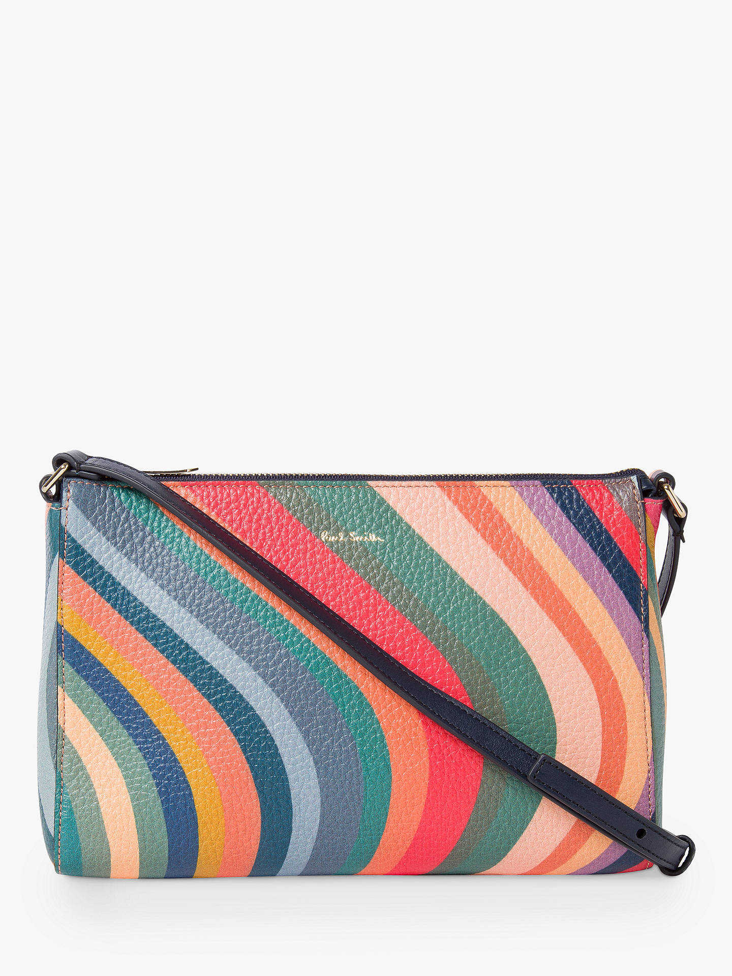 181634375b Buy Paul Smith Leather Top Zip Cross Body Bag