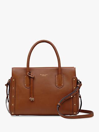 Radley Kelham Hall Medium Leather Grab Bag Indus Tan