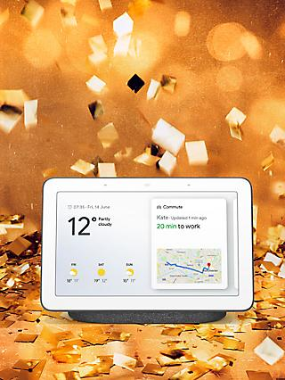 "Google Home Hub Hands-Free Smart Speaker with 7"" Screen"