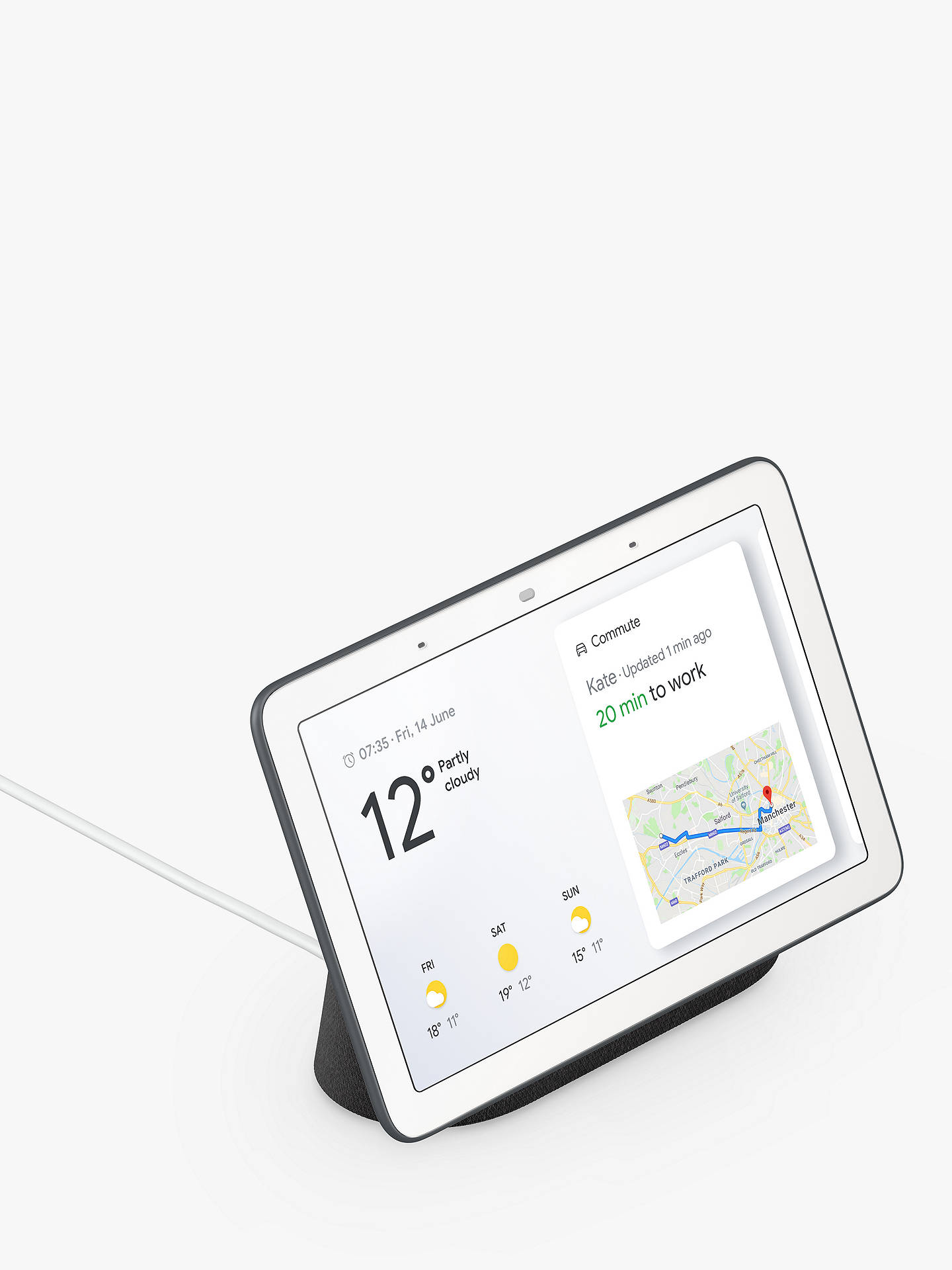 Google Home Hub Hands-Free Smart Speaker with 7