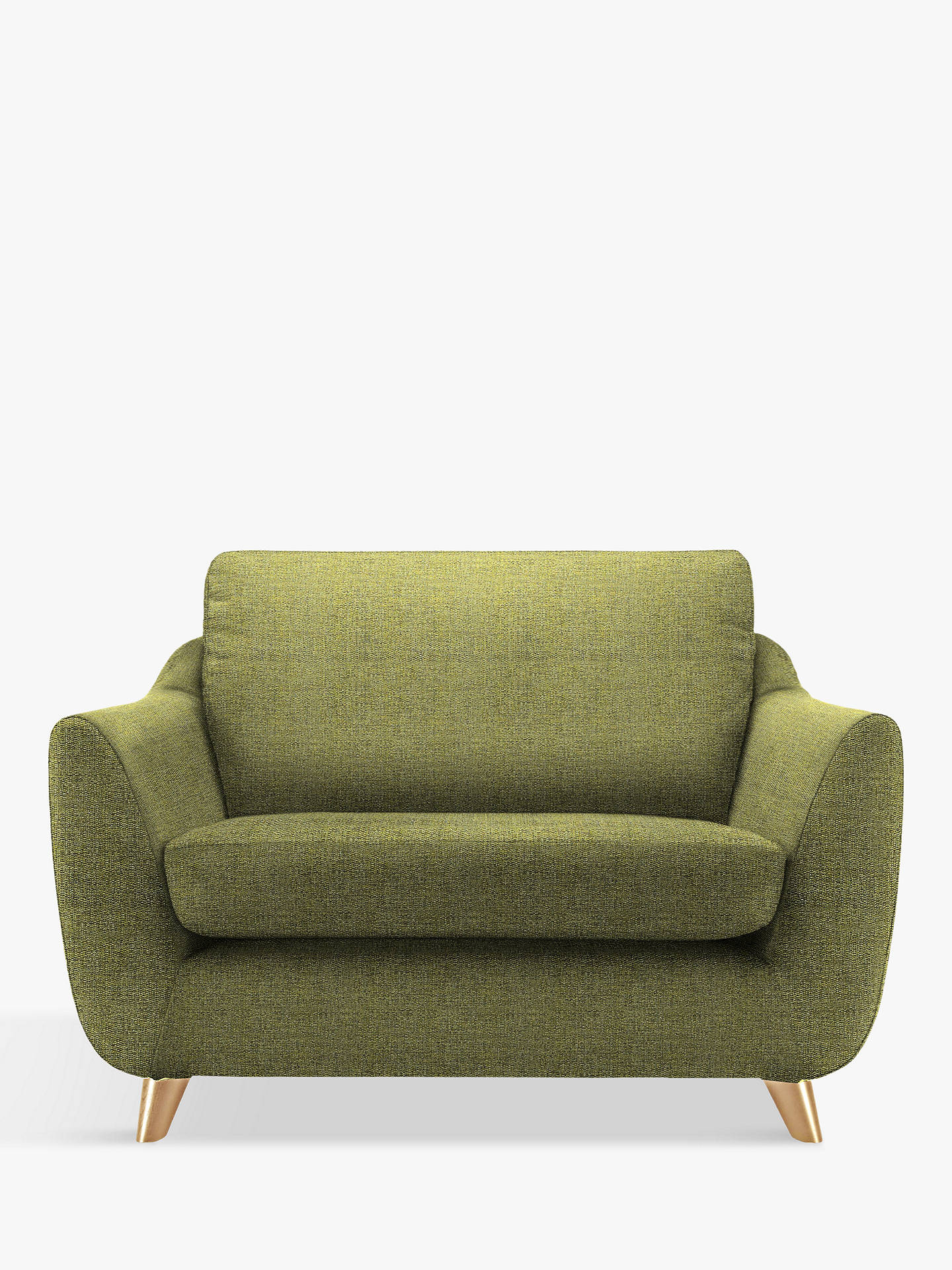 Buy G Plan Vintage The Sixty Seven Snuggler, Marl Green Online at johnlewis.com