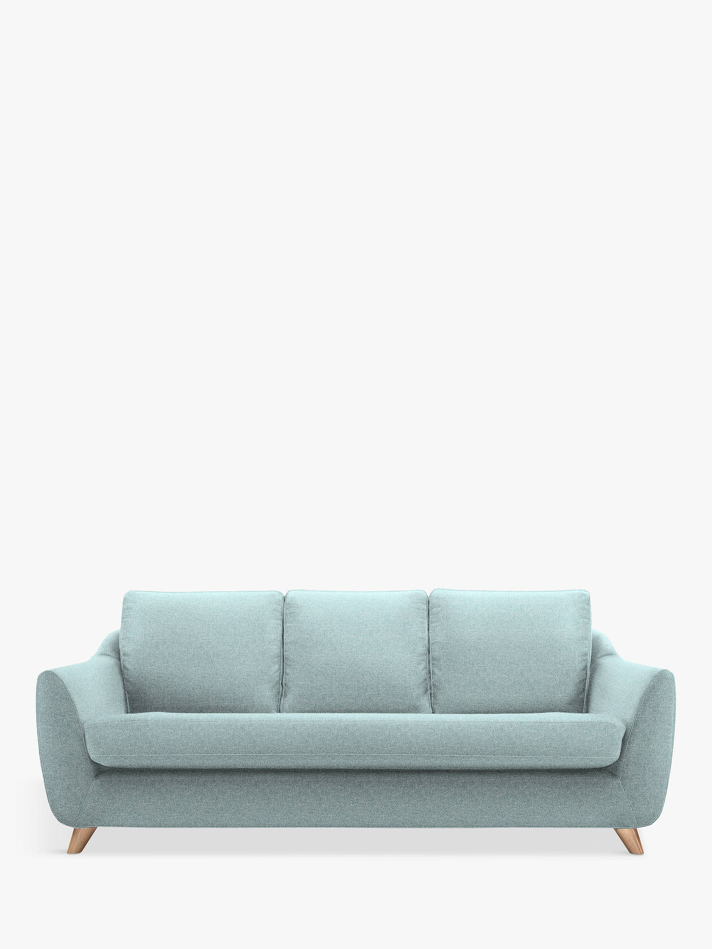 Buy G Plan Vintage The Sixty Seven Large 3 Seater Sofa, Krackle Sky Online at johnlewis.com
