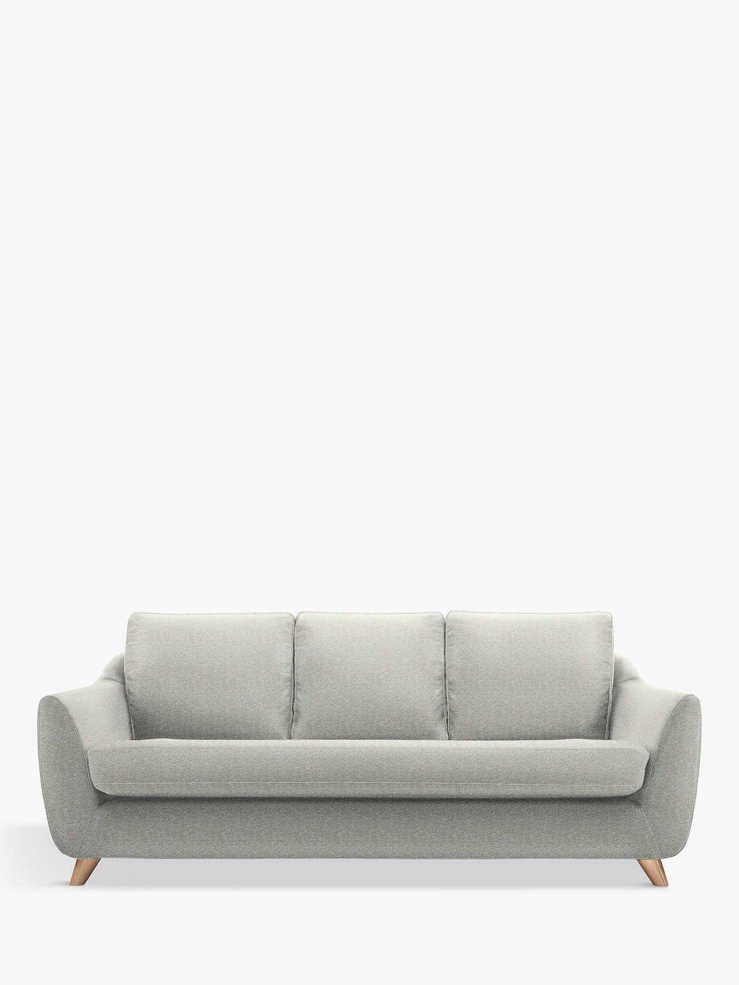 Buy G Plan Vintage The Sixty Seven Large 3 Seater Sofa, Sherbert Cloud Online at johnlewis.com