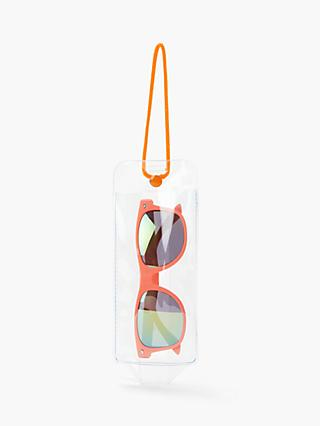 John Lewis & Partners Children's Wayfarer Sunglasses, Orange