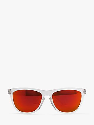 John Lewis & Partners Children's Mirrored Sunglasses, Clear