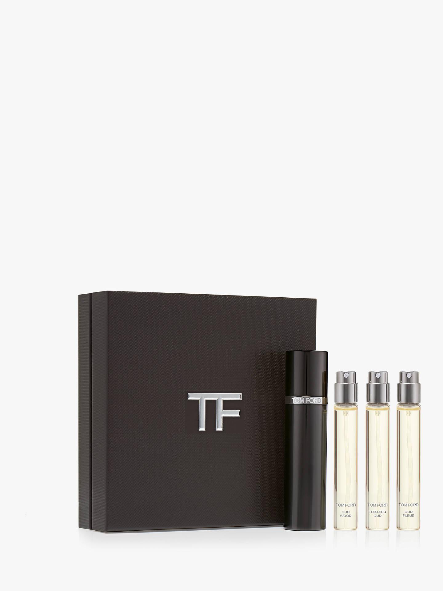 5767c821146e Buy TOM FORD Private Blend Oud Wood Travel Atomiser Fragrance Gift Set  Online at johnlewis.