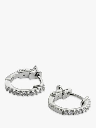 CARAT* London Baby Hoop Earrings, Silver