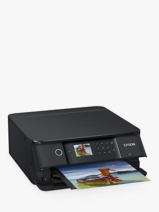 Epson Expression Premium XP-6100 Wi-Fi All-In-One Printer, Black