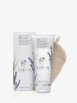 Liz Earle Cleanse & Polish™  Body Gentle Mitt Cleanser Lavender & Vetiver, 200ml