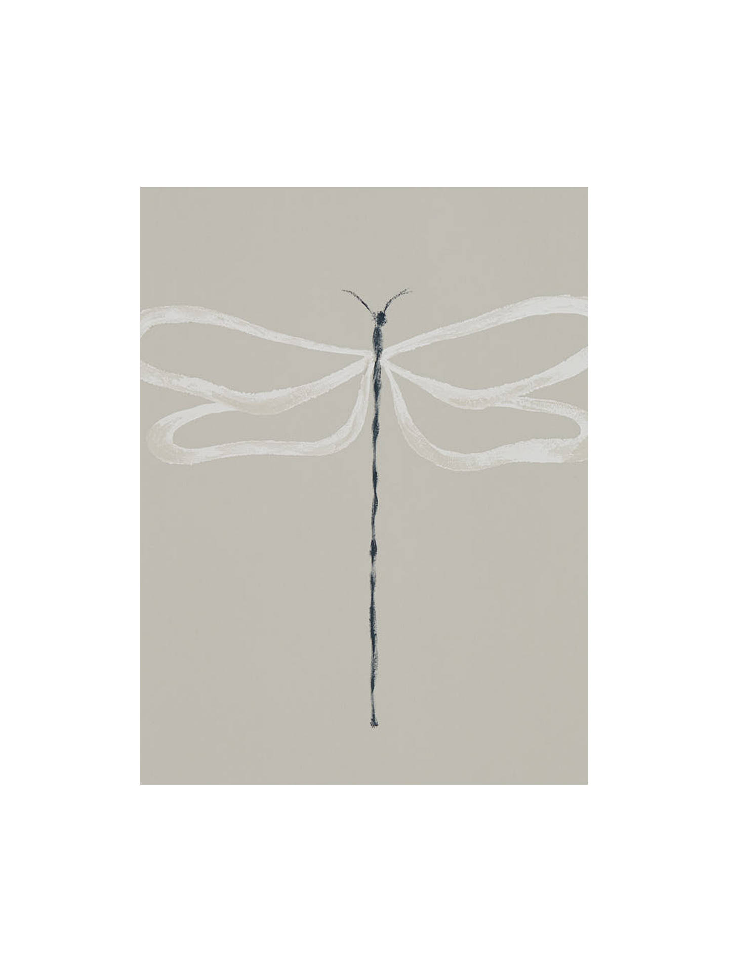 Buy Scion Dragonfly Wallpaper, Parchment 111933 Online at johnlewis.com
