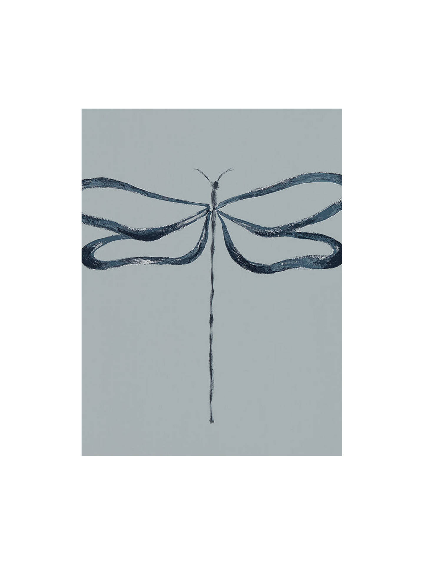Buy Scion Dragonfly Wallpaper, Liquorice 111932 Online at johnlewis.com
