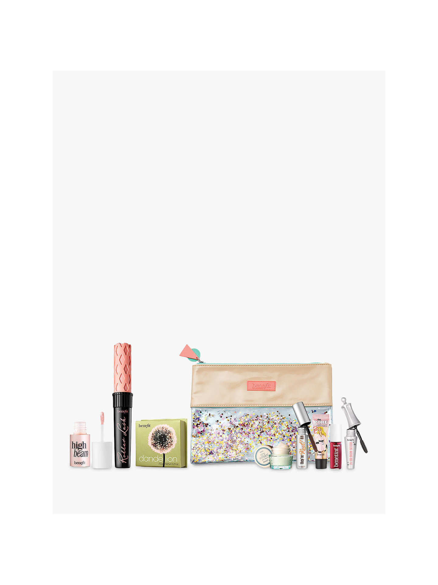 BuyBenefit Roller Lash Mascara, Dandelion Blusher and Complexion Enhancer with Gift Online at johnlewis.com