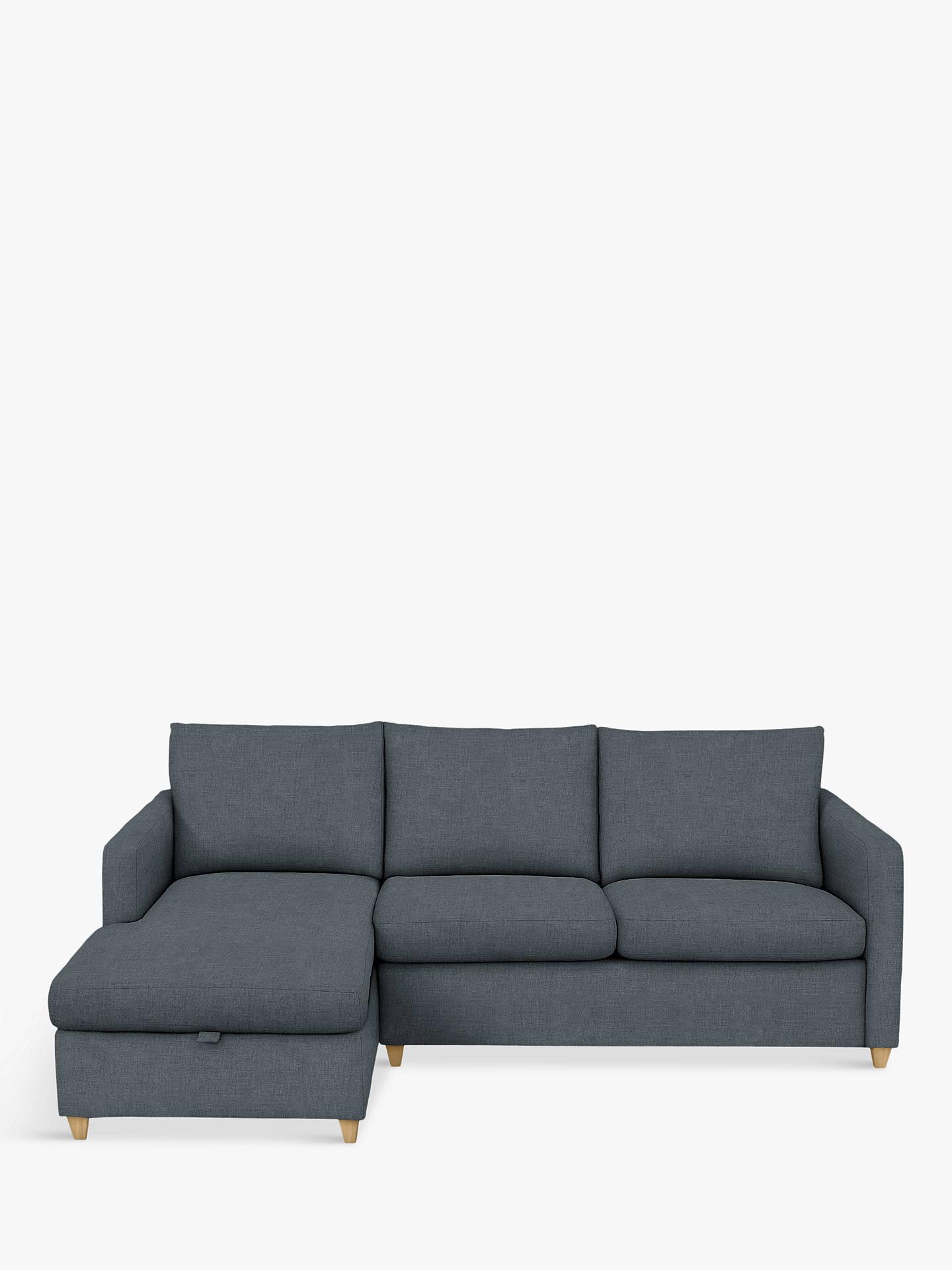 Swell John Lewis Partners Bailey Lhf Chaise End Sofa Bed Light Leg Hatton Steel Cjindustries Chair Design For Home Cjindustriesco