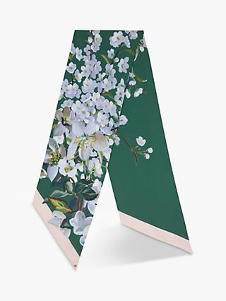 Ted Baker Graceful Skinny Scarf, Green