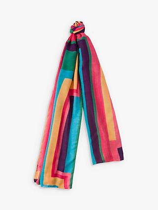 1d407d1079 Paul Smith Rainbow Stripe Scarf, Multi