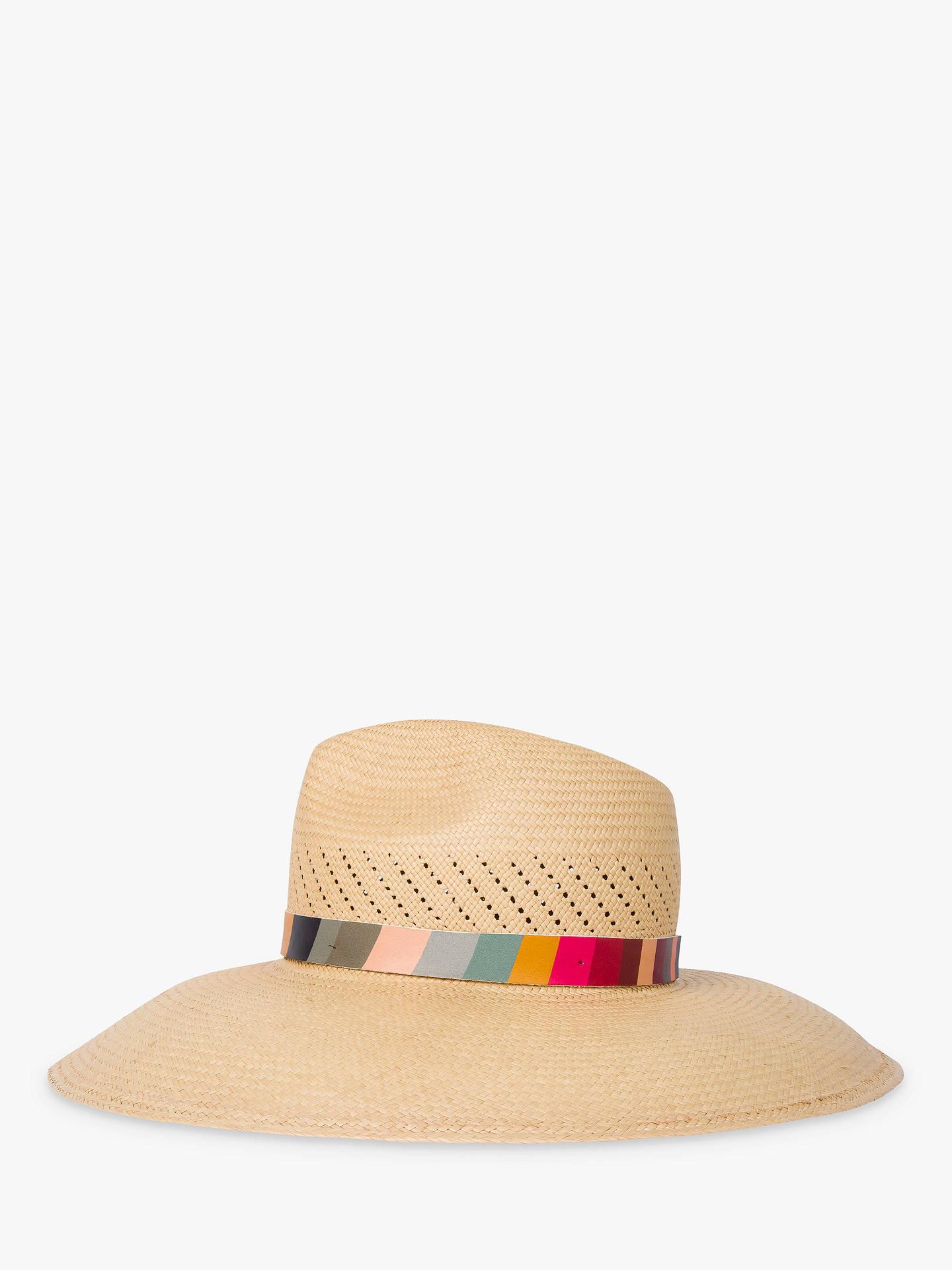 187e30a99 Paul Smith Panama Swirl Crochet Hat, Multi