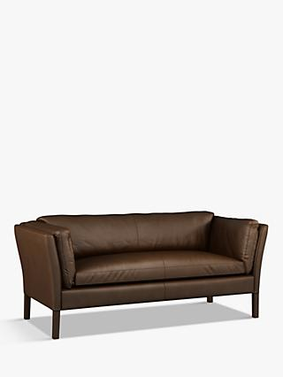 Halo Groucho Medium 2 Seater Leather Sofa