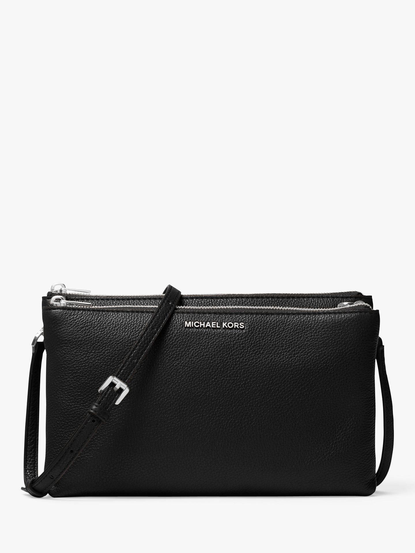 3339fd7d9909 BuyMichael Kors Crossbodies Leather Double Zip Cross Body Bag