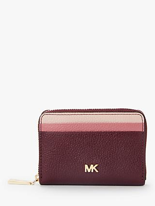Michael Kors Money Pieces Leather Card Purse