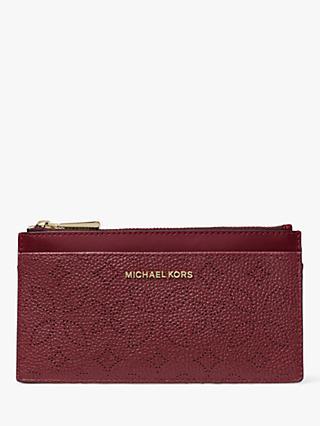 89bb88a1433e MICHAEL Michael Kors Money Pieces Leather Slim Card Purse