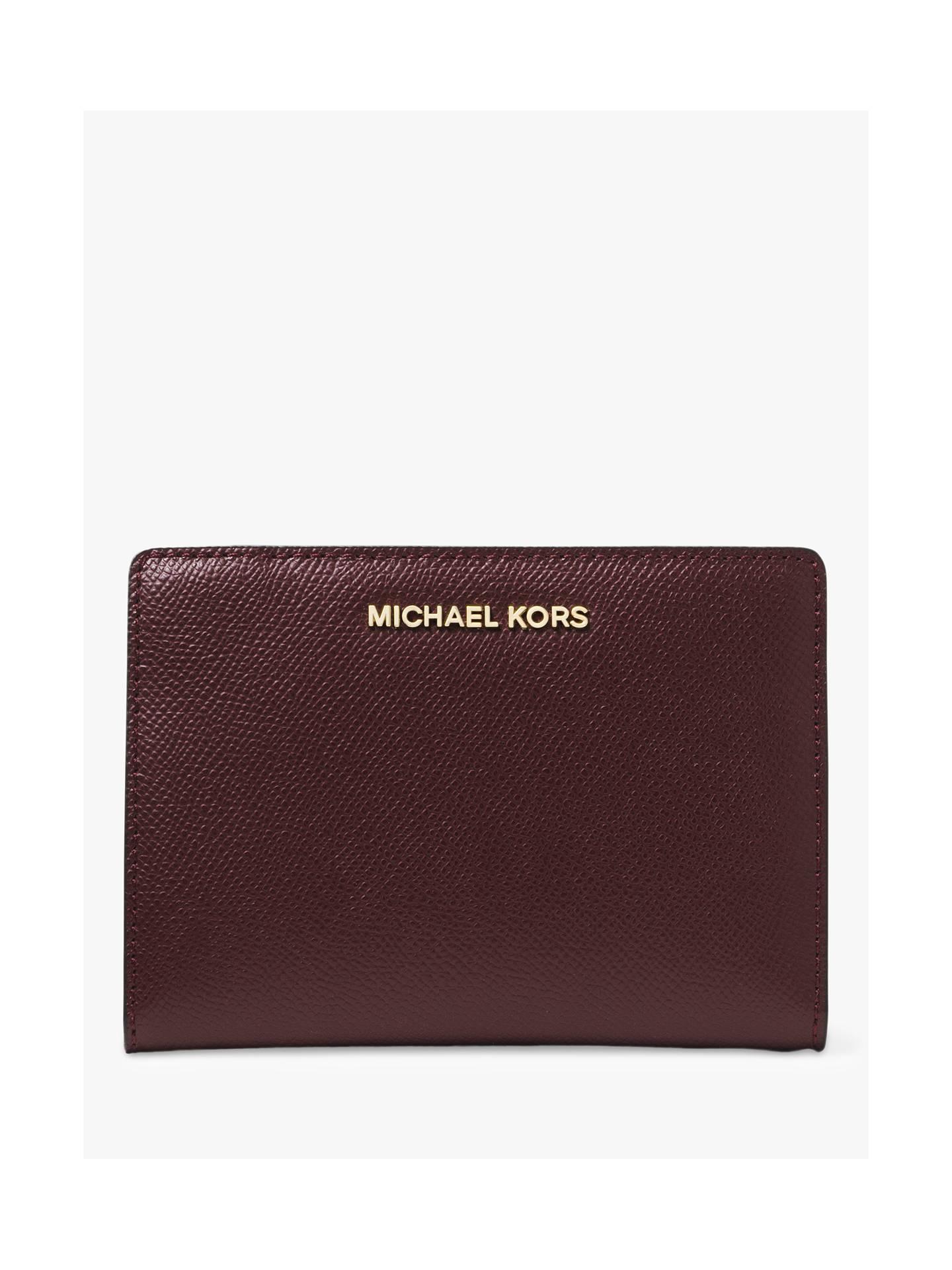 05a5aa22b3cb2 Michael Kors Money Pieces Leather Card Case Purse at John Lewis ...