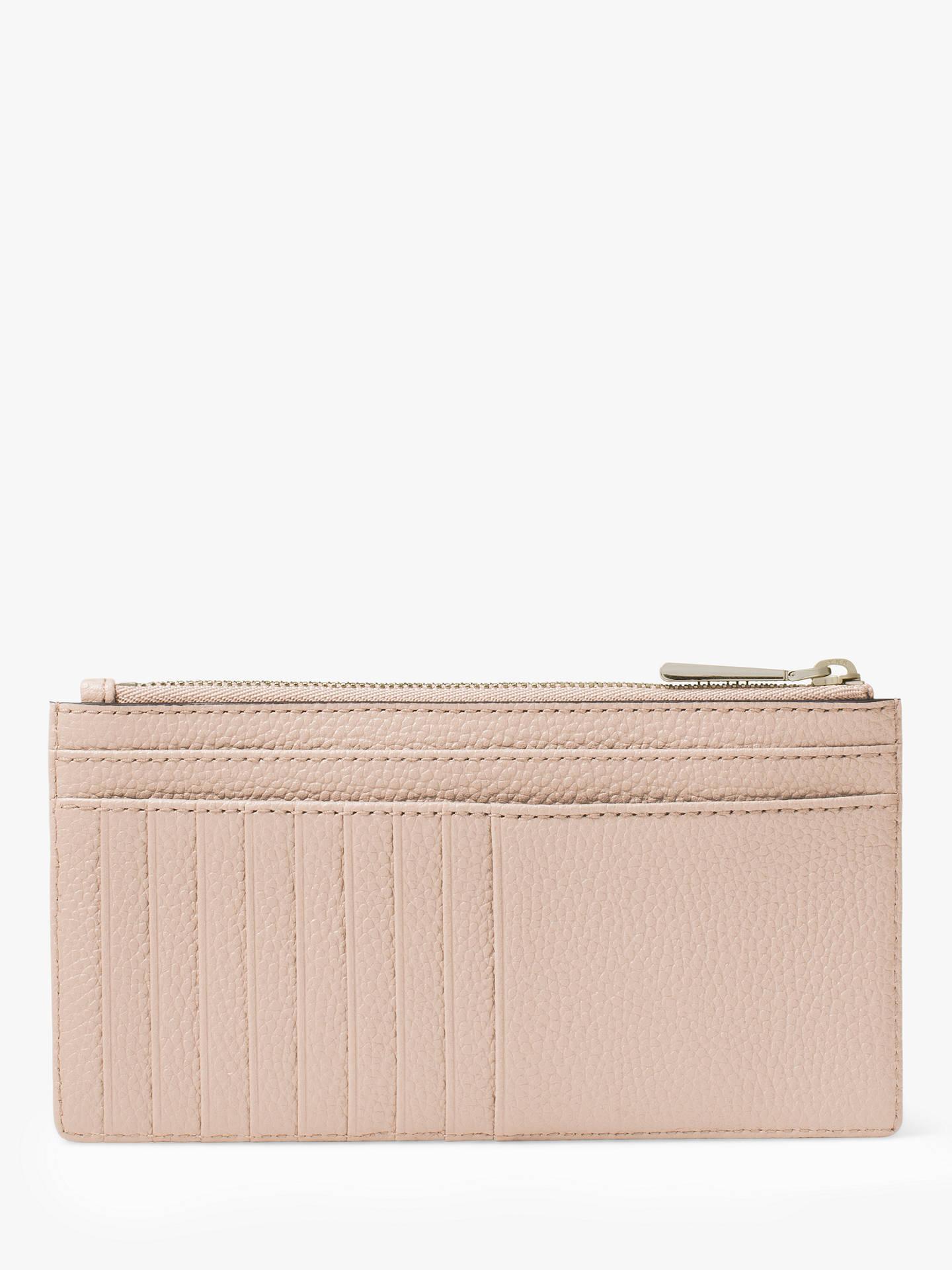 finest selection 99e55 42916 MICHAEL Michael Kors Money Pieces Leather Slim Card Purse, Soft Pink
