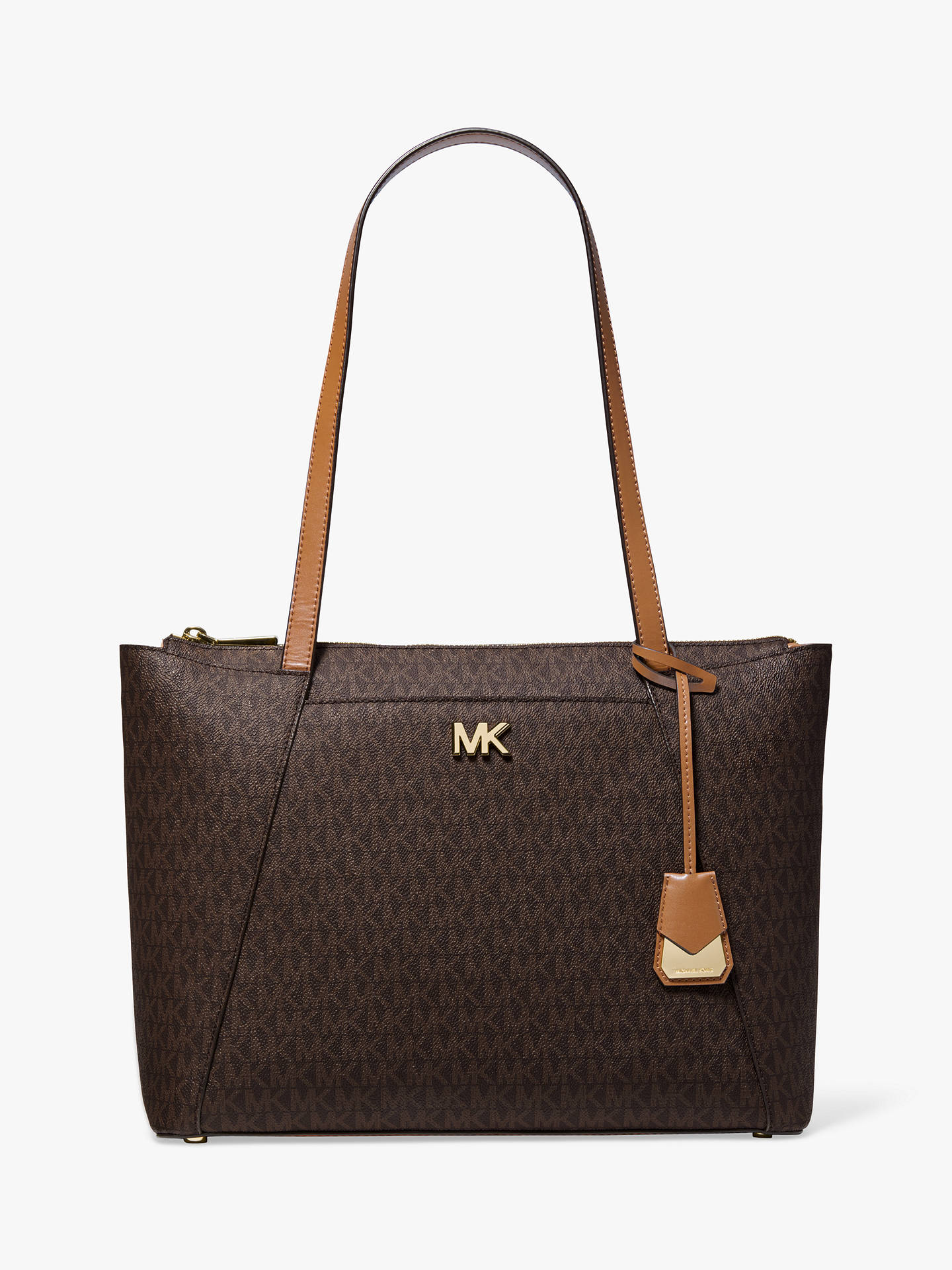f0dd562dbcc7a2 Buy MICHAEL Michael Kors Maddie East West Medium Tote Bag, Acorn Online at  johnlewis.