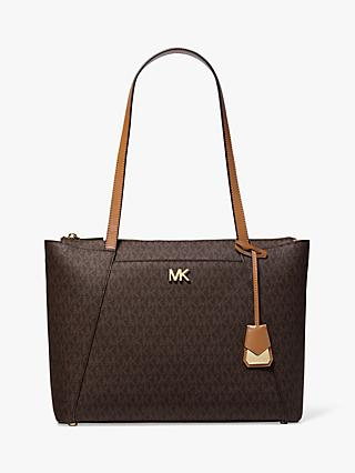 MICHAEL Michael Kors Maddie East West Medium Tote Bag, Acorn