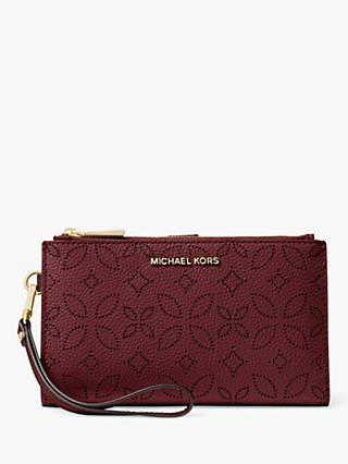 cdad3ec4ed Michael Kors Top Zip Wristlet Bag