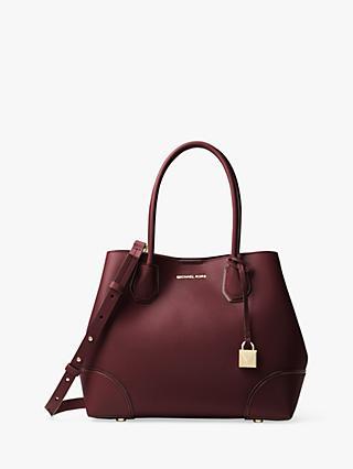 470e9ecb9a MICHAEL Michael Kors Mercer Gallery Medium Leather Tote Bag