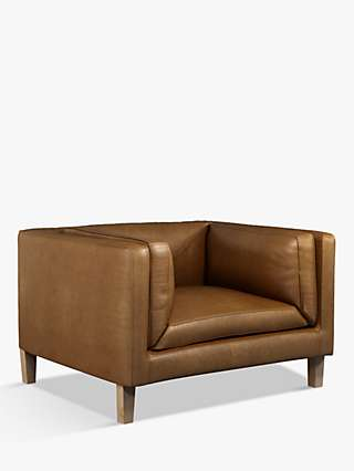 Halo Spencer Leather Armchair