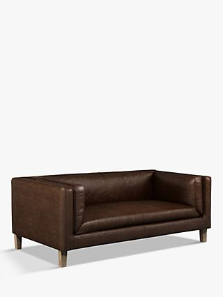Halo Spencer Medium 2 Seater Leather Sofa