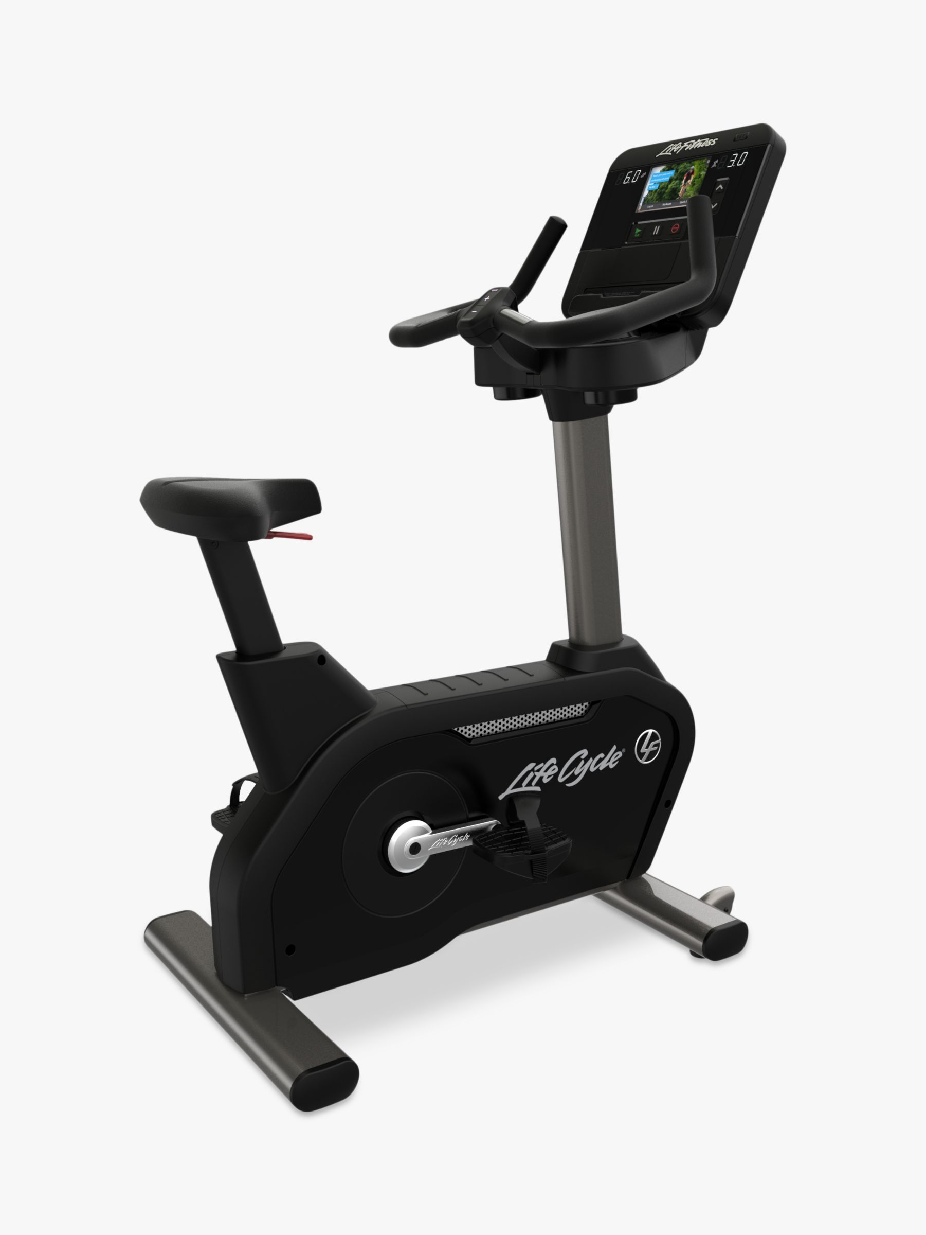 Life Fitness Life Fitness Club Series Plus Upright Exercise Bike