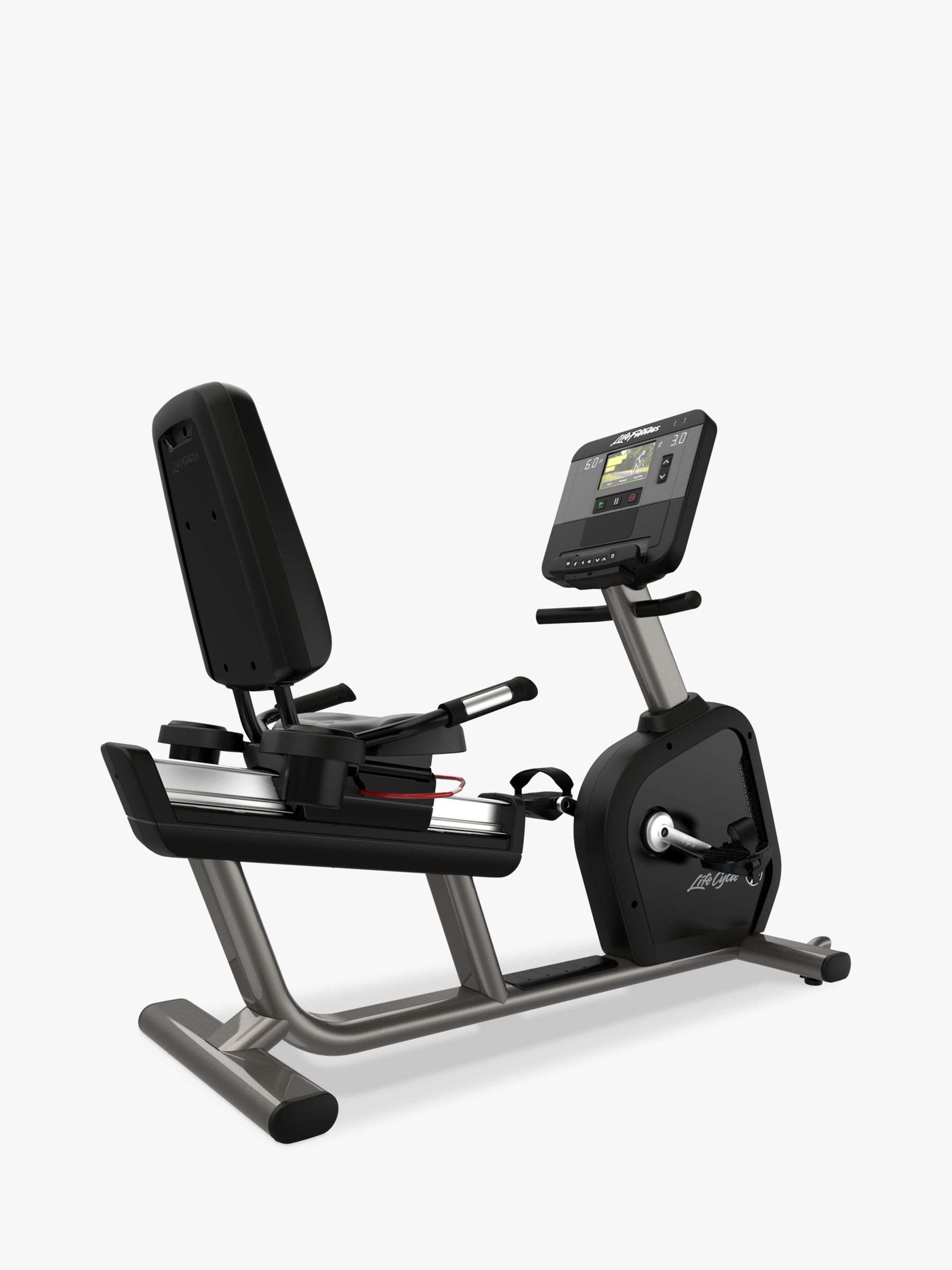 Life Fitness Life Fitness Club Series Plus Recumbent Exercise Bike