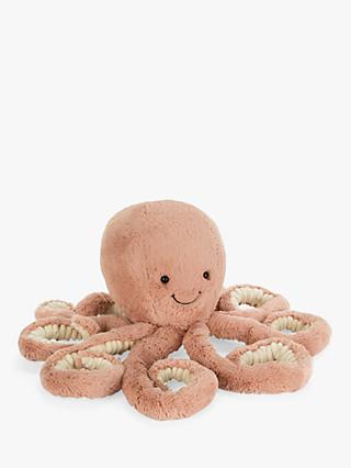 Jellycat Odell Octopus Soft Toy, Large