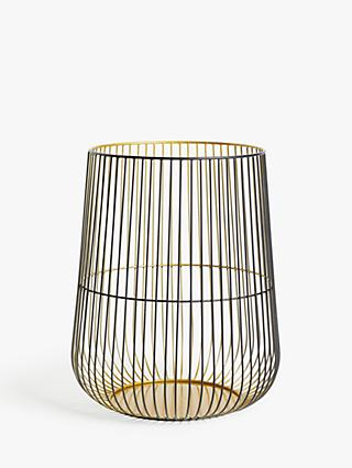 John Lewis & Partners Cage Lantern Candle Holder, Medium