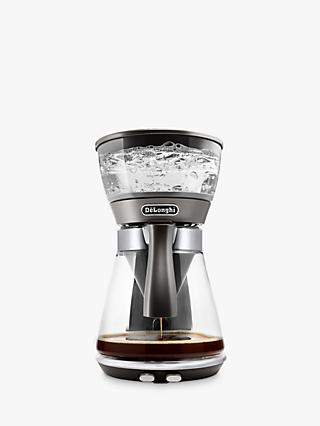 De'Longhi Clessidra Coffee Machine, Silver
