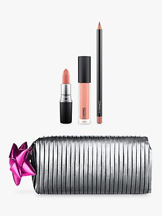 MAC Shiny Pretty Things Goody Bag - Nude Lips