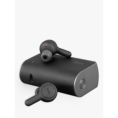 Image of RHA TrueConnect True Wireless Sweat & Weather-resistant Bluetooth In-Ear Headphones with Mic/Remote