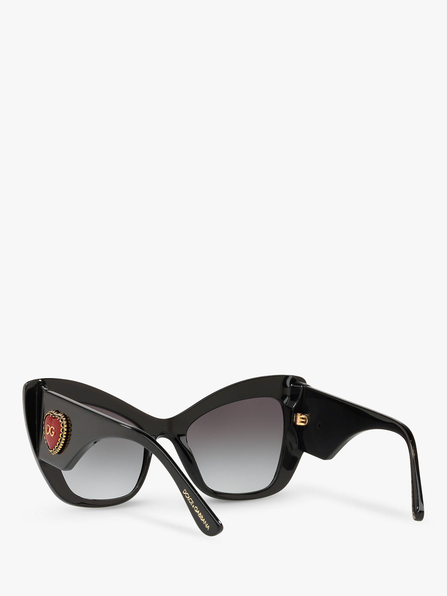 1b59864eb280a Dolce   Gabbana DG4349 Women s Cat s Eye Sunglasses at John Lewis ...