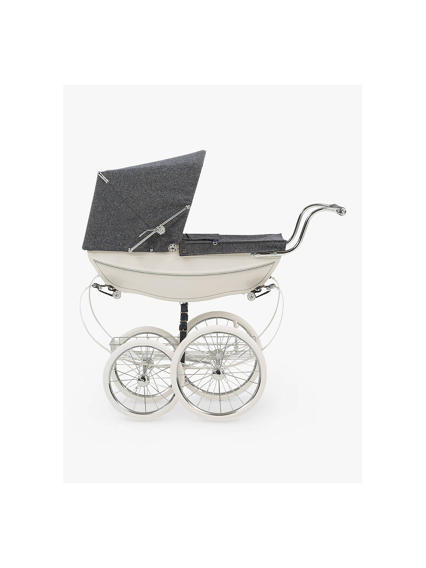 BuySilver Cross 140th Anniversary Balmor Doll's Pram Online at johnlewis.com