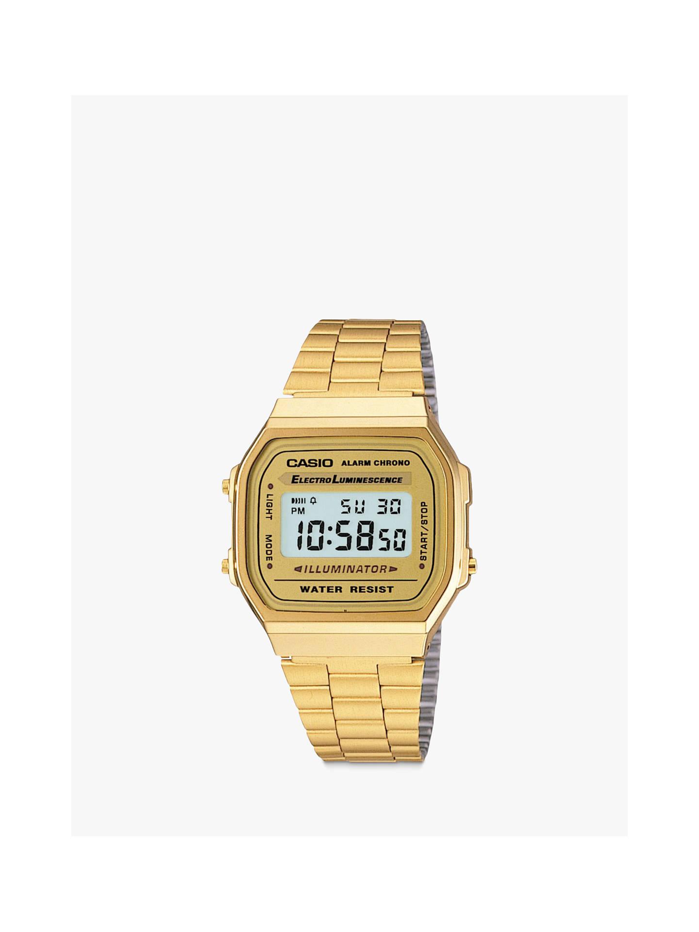 cf67ae00a0a3 Buy Casio A168WG-9EF-SS Unisex Core Bracelet Strap Watch