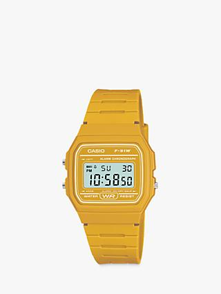 Casio Unisex Core Digital Chronograph Resin Strap Watch