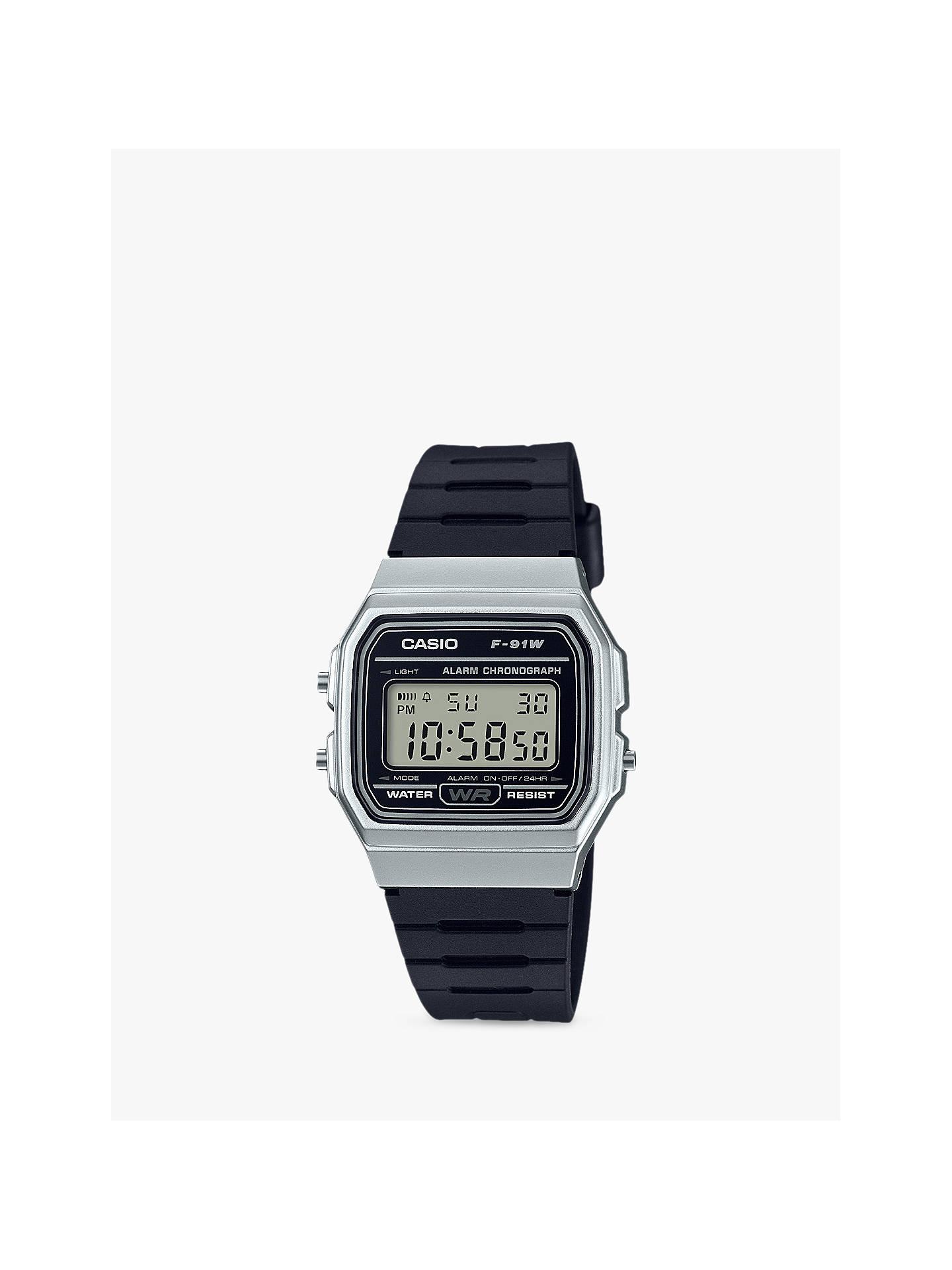 c9777d377b7f Casio Unisex Core Retro Casual Resin Strap Watch at John Lewis ...